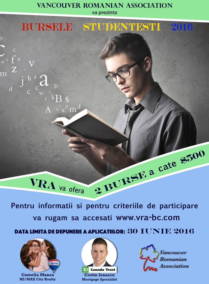VRA Scholarship Poster