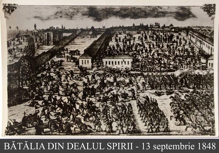 13 SEPTEMBRIE – Ziua Pompierilor din România! Un gând bun, dimpreună cu respectul cuvenit unor oameni de onoare!  13 Septembrie este o dată la care se cuvine să cinstim memoria, curajul şi devotamentul pompierilor care şi-au dat viaţa în Bătălia de la Dealul Spirii, din 1848.   Atunci, Compania de Pompieri București, aflată  sub comanda Căpitanului Pavel Zăgănescu, s-a angajat în lupta cu otomanii, care, de douăzeci de ori mai numeroși, au pătruns în oraș prin bariera Dealul Spirii...  În egală măsură, același omagiu trebuie să-l aducem tuturor pompierilor care de-a lungul veacurilor au luptat până la sacrificiu pentru a salva nenumărate vieți și bunuri!  Revenind în zilele noastre, fie că sunt militari de carieră (activi, în retragere ori în rezervă) fie că fac parte din formațiunile civile de pompieri voluntari, le transmitem un gând bun, dimpreună cu respectul cuvenit unor oameni de onoare, gata să intervină oricând în sprijinul semenilor!   La Mulți Ani!   Surse: IGSU România; http://isubif.ro; wikipedia