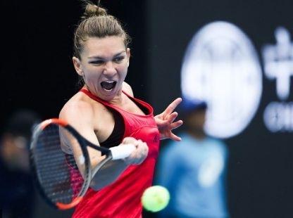 Simona Halep a fost invinsa, duminica, in finala turneului WTA de la Beijing.