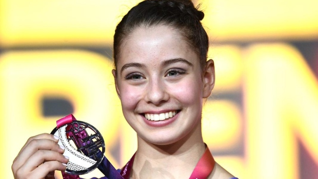 Ana Padurariu won the silver medal in the beam finals on Saturday at the world gymnastics championship, giving Canada its second medal in as many days at the competition.